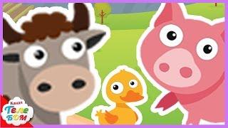 КАК ГОВОРЯТ ЖИВОТНЫЕ? Звуки животных для детей || Учим животных для самых маленьких