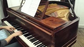 Piano Pleyel modèle F de 1930 - Satie 1ère Gymnopédie