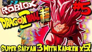 SUPER SAIYAN 3 WITH KAIOKEN TIMES 5! | Roblox: Dragon Ball Super 2 (UPDATED) - Episode 5