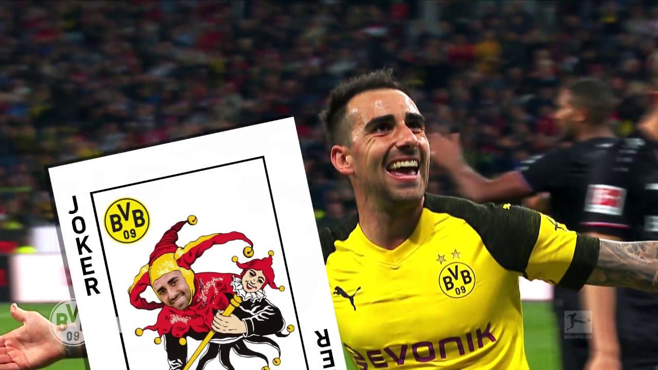 Topjoker Paco Alcácer im BVB-Feiertagsmagazin | VfB Stuttgart - Borussia Dortmund