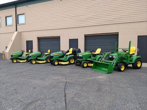 Used John Deere Garden Tractors For Sale
