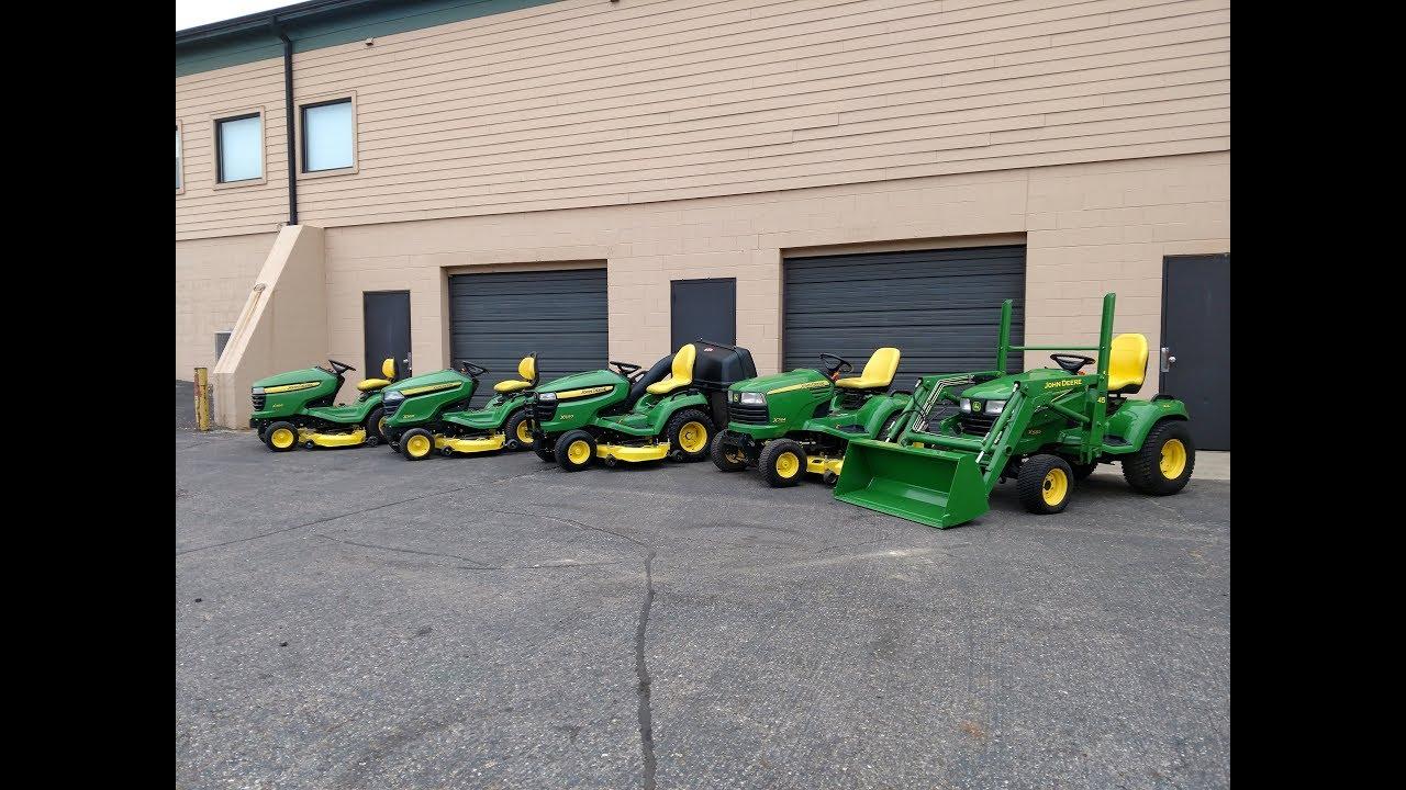 Used john deere garden tractors for sale youtube - Used garden tractors for sale by owner ...