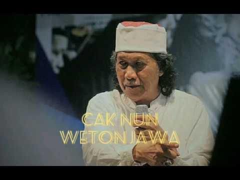 Download Cak Nun 'Weton Jawa' kalian boleh percaya boleh tidak, tapi...
