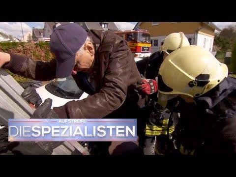 Bizarre Rettung: Senior will zurück ins brennende Haus | Auf Streife - Die Spezialisten | SAT.1 TV