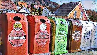 Как в Германии сортируют мусор / Как выбрасывают мусор в Европе