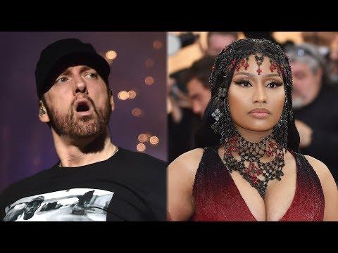 Eminem FUELS Nicki Minaj Dating Rumors During Boston Show