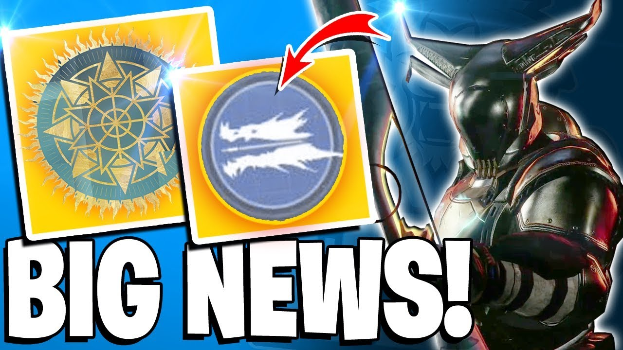 Destiny 2 News - Whisper Returns TODAY! All New Exotics, Mods = NEW PERKS, All New Exotics & Mor