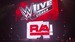 Ronda Rousey&Alexa Bliss entrance at WWEOSAKA 2018.08.31