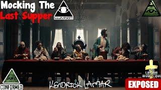 Kendrick Lamar - HUMBLE Music Video Illuminati Exposed
