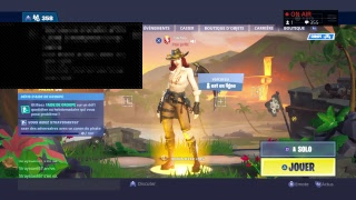 (Live fortnite/Fr/Make your ad) we mount the combat pass/ goal 250 abos