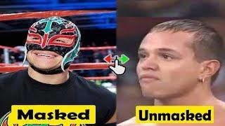 Wrestlers unmasked | Rey mysterio,Kalisto,Sin Cara,Kane....