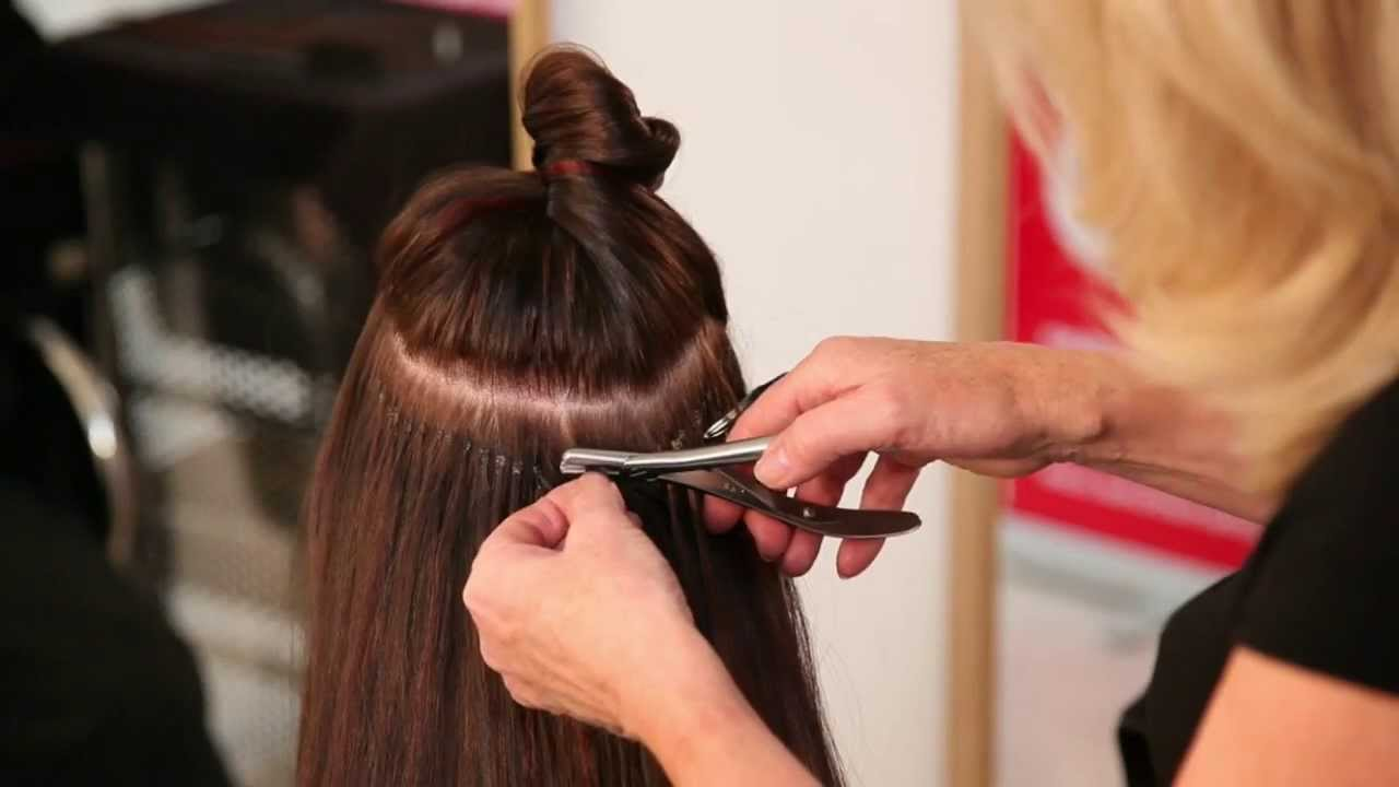 Racoon Hair Extensions Premium Links Demo Youtube
