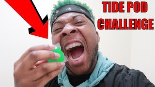 TIDE POD CHALLENGE: THE BEST WAY TO EAT ONE