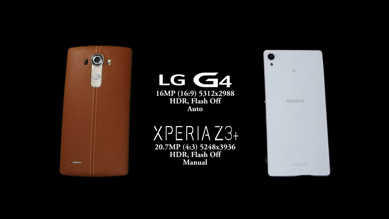 Sony Xperia Z3+/Z3 Plus vs LG G4