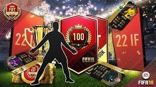 FIFA 18 AMAZING FUT CHAMPIONS REWARDS!! 22 TOTW PLAYERS!!