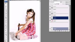 Разрезание фотографии на кусочки
