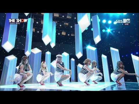 [150721] APINK - FLOWER PETAL + REMEMBER @ SBS-MTV THE SHOW Comeback Special [1080P]