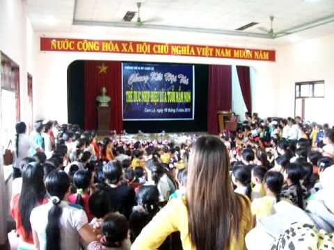 Hội thi TDNĐ Mầm non Hoa Phượng - Cam Lộ - Quảng Trị