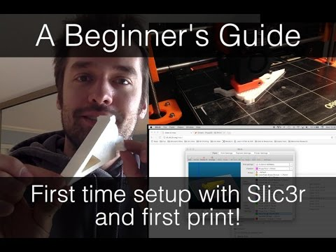 A Beginner's Guide - Setting up Slic3r for a first print (Prusa i3 MK2)