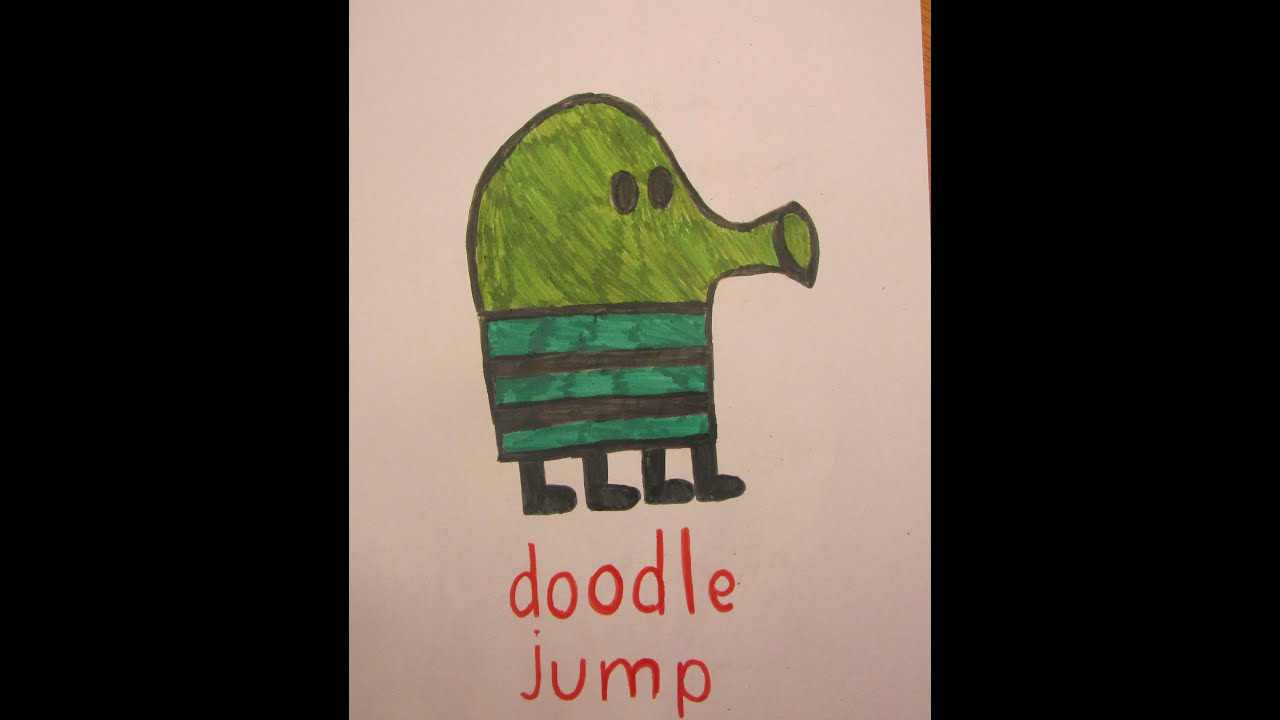 how to draw a jump