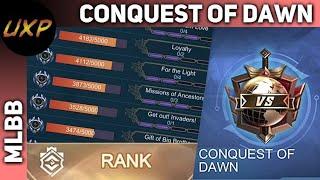 Conquest of Dawn stream, happy feeding! | unXpected