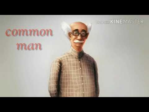 common man status, what's app status, by Jb status