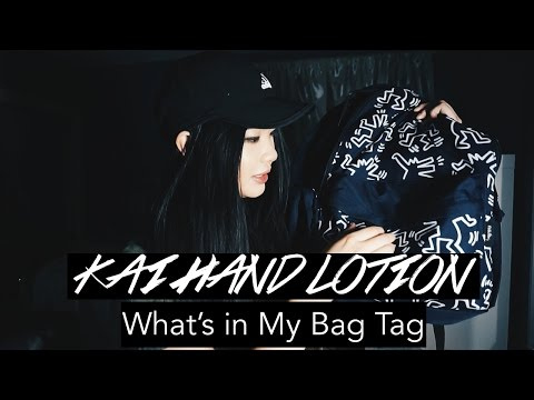 KAI HAND LOTION // What's In My Bag Tag