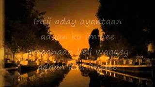 Somali Lyrics - Song - Adan kuu imidee - Luul Jeylani   Kiler - YouTube.flv