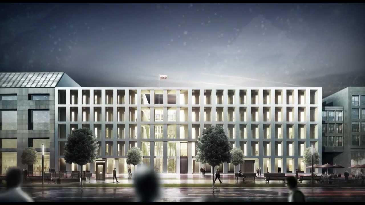Projekt budynku Ambasady RP w Berlinie - Jems Architekci Sp z o.o. (I nagroda)
