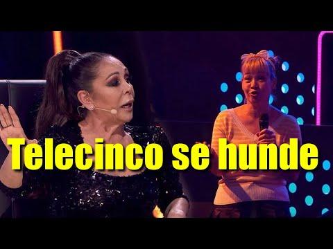 Telecinco se hunde con 'Top Star' e Isabel Pantoja en la noche del sábado frente al peliculón