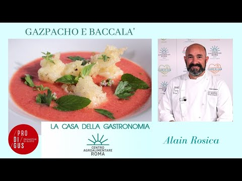 Gazpacho e baccalà