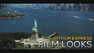 How To: Create Hollywood Film Looks in Hitfilm Express 2017