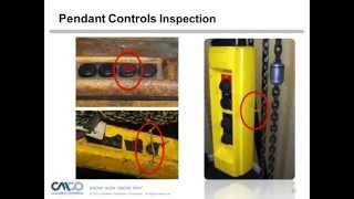 Safety Webinar: Hoist Pre-Operational Safety Inspection