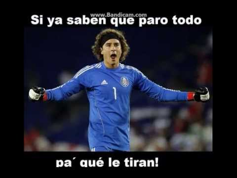 "Los memes de ""El Memo"" Ochoa Mexico vs Brasil"