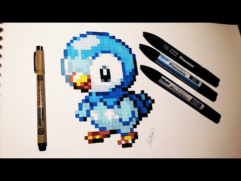 how to draw piplup easy