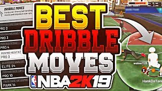 HANKDATANK BEST DRIBBLE MOVES + COMBOS REVEALED • HOW TO BECOME A DRIBBLE GAWD IN NBA 2K19