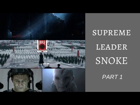 Snoke in TFA: Character Design and Analysis | Supreme Leader Snoke Explained (SPOILERS)