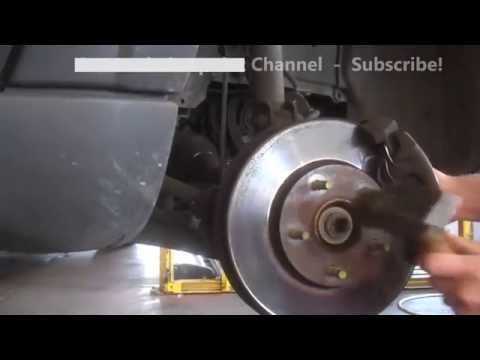 Front axle replacement Ford Escape 2003 Right front CV axle install remove replace