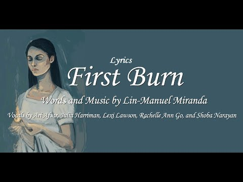 First Burn-Hamilton Lyrics English-Español