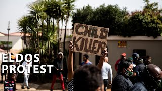 The killing of Nathaniel Julius, a non-verbal child with Down syndrome sparked protests and a standoff between angry community members and police in Eldorado Park.  #EldosProtest #NathanielJulius #KayleenMorgan
