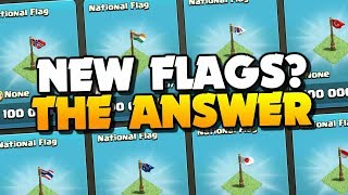NEW FLAGS in CLASH OF CLANS?? Answers Revealed! How to Fix a Rushed Base ep 4!