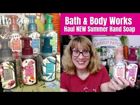 Bath & Body Works Haul NEW Summer Hand Soap
