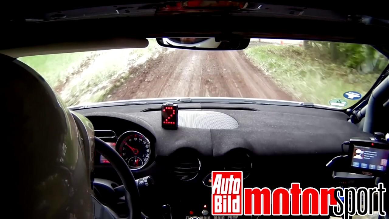 auto bild motorsport beim adac opel rallye cup youtube. Black Bedroom Furniture Sets. Home Design Ideas