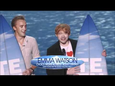 Teen Choice Awards 2011 - Daniel Radcliffe, Rupert Grint & Tom Felton - Harry Potter Awards
