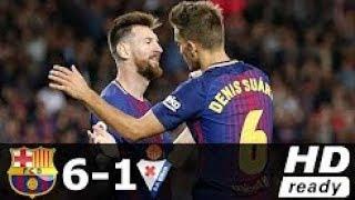 Gambar cover Barcelona vs Eibar 6-1 All Goals & Highlights La Liga 19/09/2017