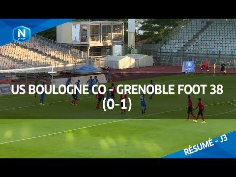 J3: US Boulogne CO-Grenoble FOOT 38 (0-1), le résumé