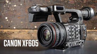 Présetentation Canon XF605