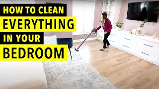 How to Clean Everỳthing in Your Bedroom