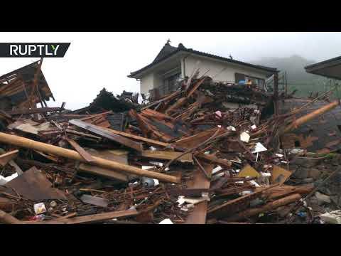 Horrifying aftermath | Japan's Kuma village left desolated after devastating floods