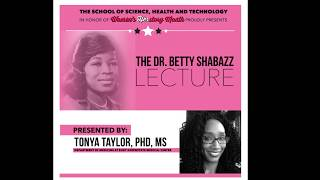 Women's History Month 2019 Dr. Betty Shabazz Memorial Lecture